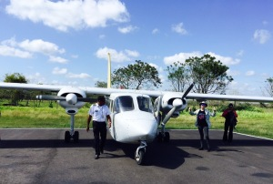 Flying is by far the best way to get around Belize.