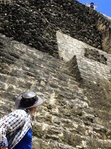 The former Mayan metropolis of Laminai.