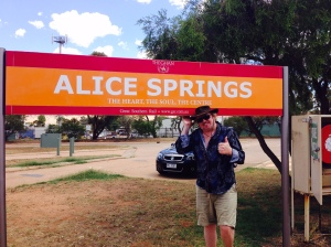 Alice Springs seems like a metropolis after spending a few days on the Ghan